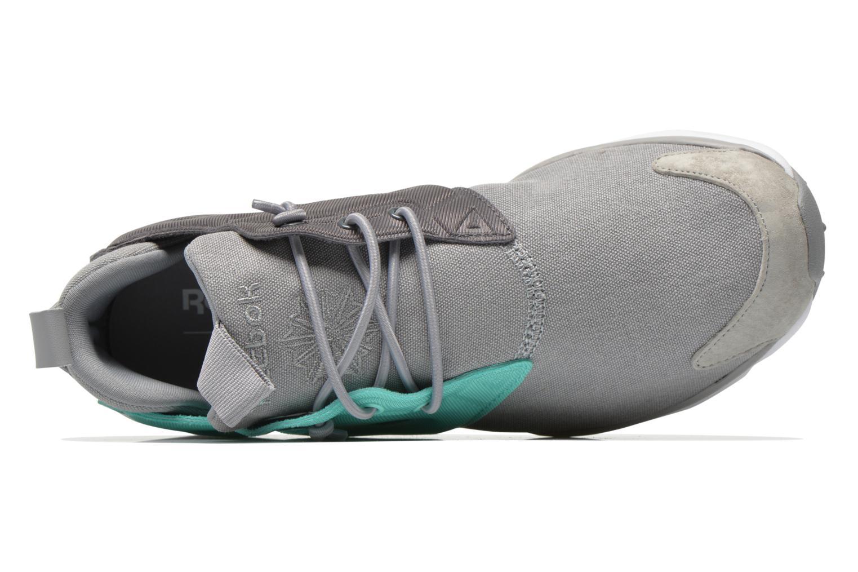 Furylite Asymmetrical Tin Grey/Emerald Sea/Shark/White