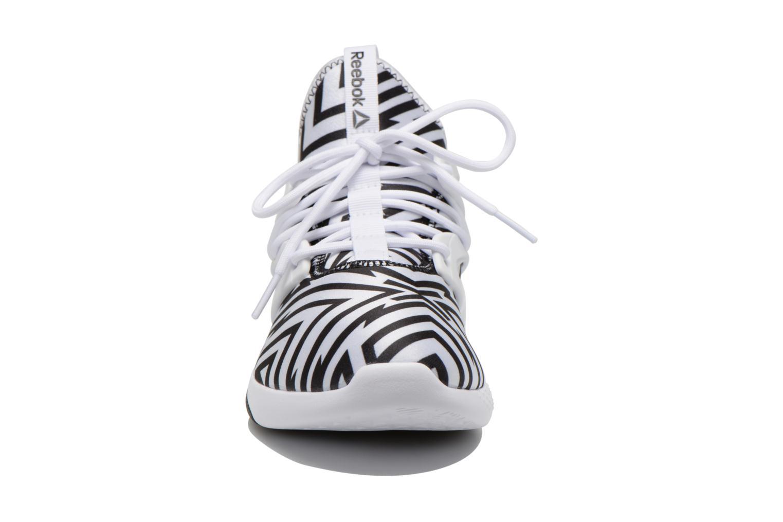 Hayasu White/Black/Graphic Stripes