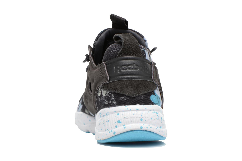 Furylite Np Coal/White/Neon Blue