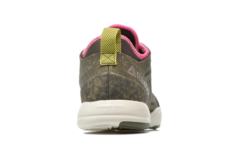 Chaussures de sport Reebok Cardio Inspire Low 2.0 Vert vue droite