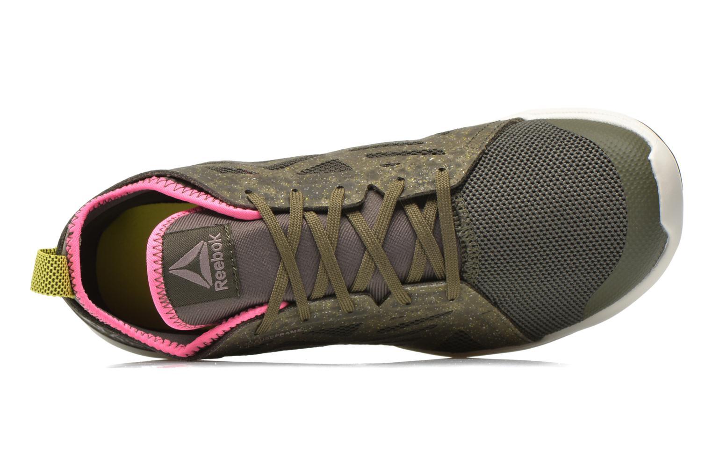 Chaussures de sport Reebok Cardio Inspire Low 2.0 Vert vue gauche