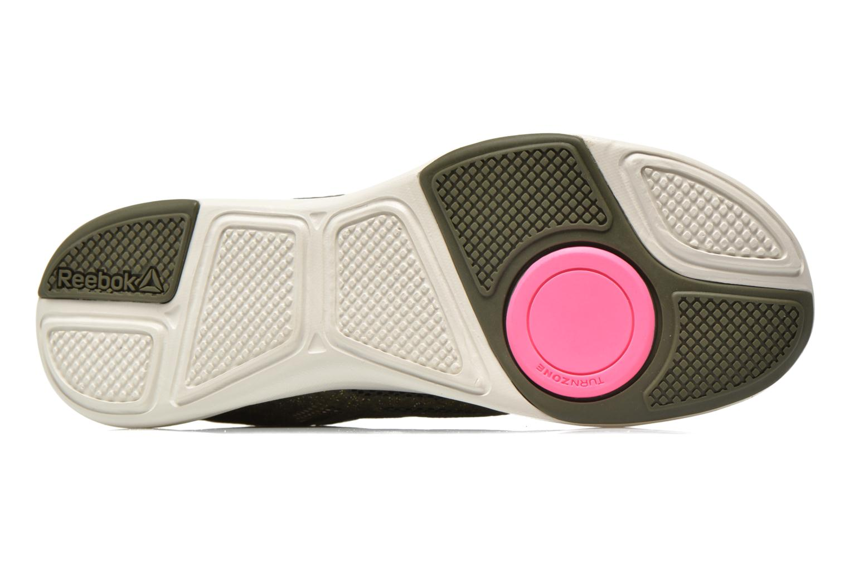 Chaussures de sport Reebok Cardio Inspire Low 2.0 Vert vue haut