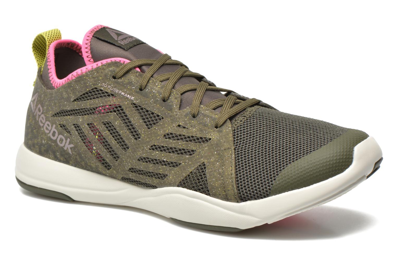 Chaussures de sport Reebok Cardio Inspire Low 2.0 Vert vue détail/paire