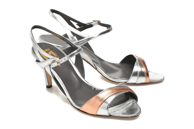 Sandales et nu-pieds Fred Marzo Polly Multicolore vue 3/4