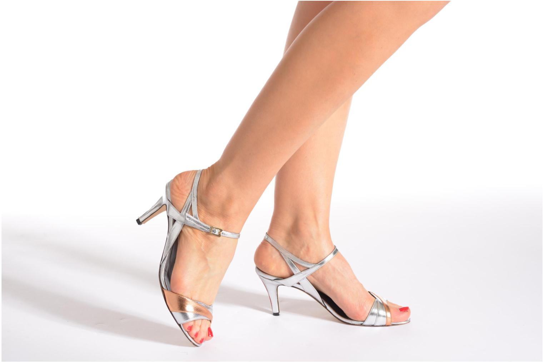 Sandales et nu-pieds Fred Marzo Polly Multicolore vue bas / vue portée sac