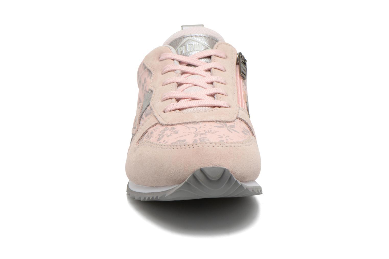 Baskets P-L-D-M By Palladium Fenway Print Rose vue portées chaussures