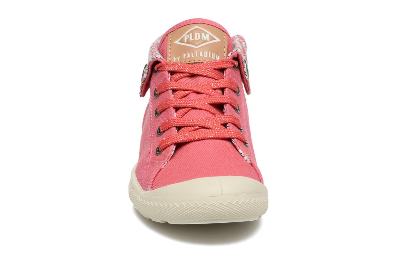 Sneakers P-L-D-M By Palladium Letty Twl Rosa modello indossato