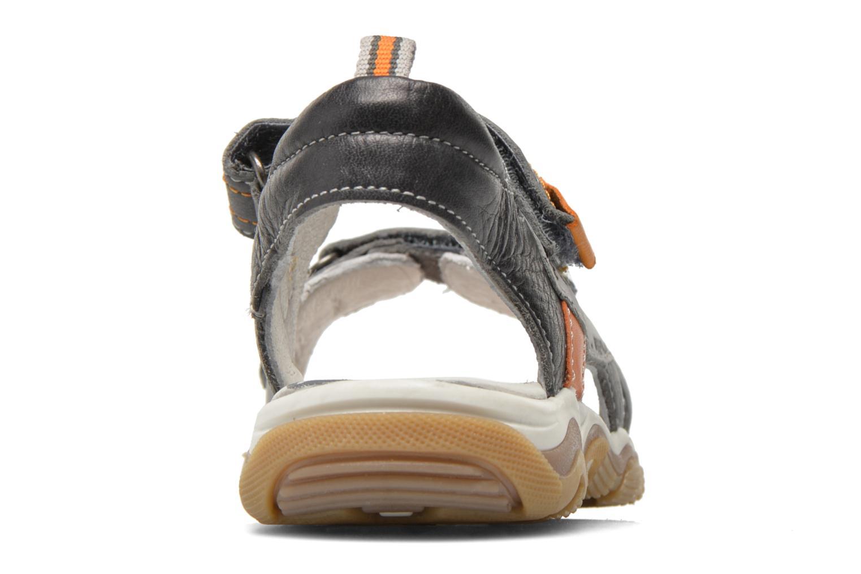 Sandales et nu-pieds Babybotte Karibou Gris vue droite