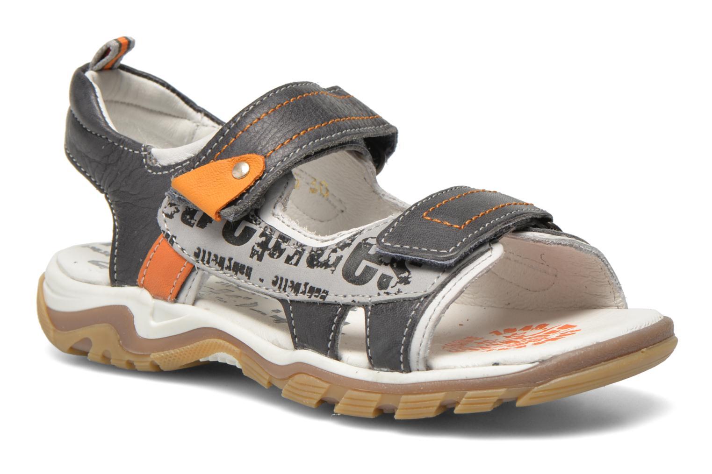 Sandales et nu-pieds Babybotte Karibou Gris vue détail/paire