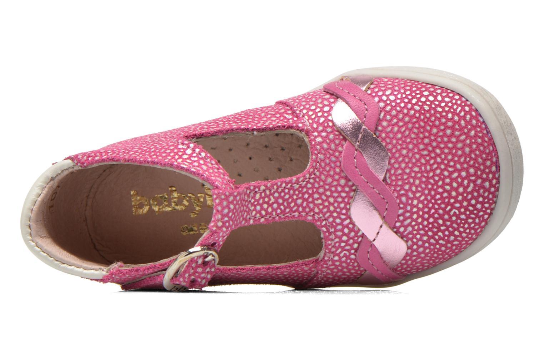 Bottines et boots Babybotte Palmela Rose vue gauche