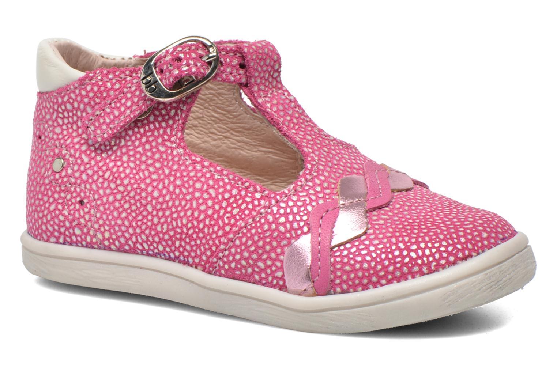 Bottines et boots Babybotte Palmela Rose vue détail/paire