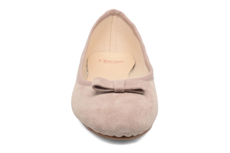 Ballerines Opéra national de Paris Adeline Rose vue portées chaussures