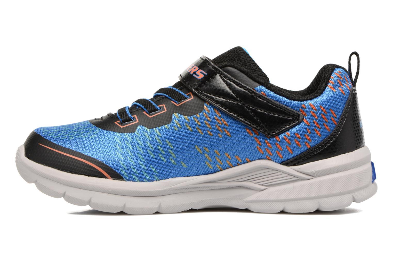 Sneakers Skechers Erupters II Lava Arc Azzurro immagine frontale