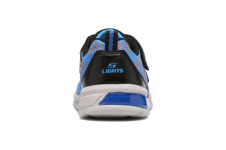 Baskets Skechers Erupters II Lava Arc Bleu vue droite
