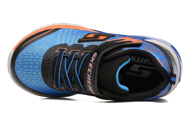 Baskets Skechers Erupters II Lava Arc Bleu vue gauche
