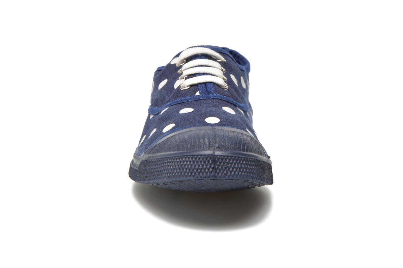 Baskets Bensimon Tennis Pastel Pastilles Bleu vue portées chaussures