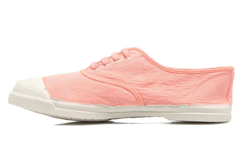 Sneakers Bensimon Tennis Mixprint Rosa immagine frontale