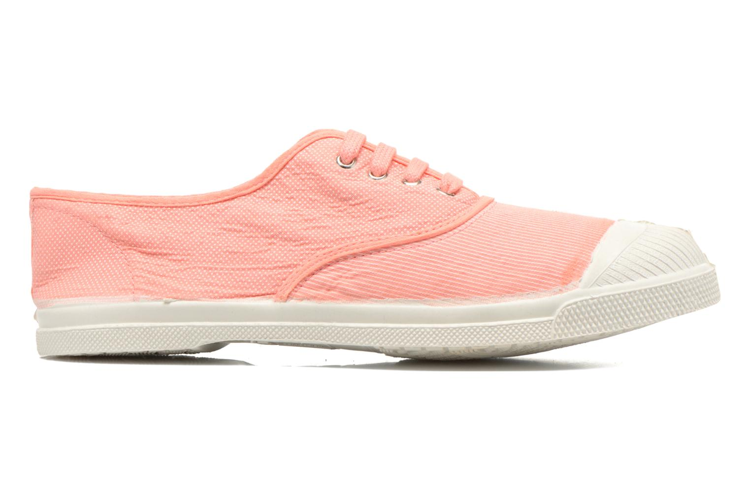 Trainers Bensimon Tennis Mixprint Pink back view