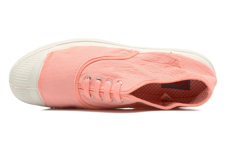 Sneakers Bensimon Tennis Mixprint Rosa immagine sinistra