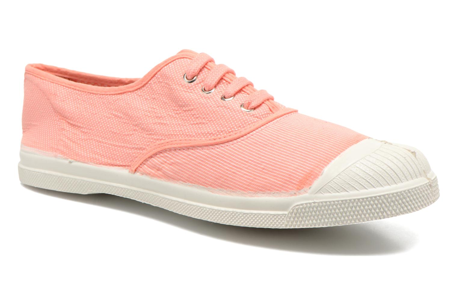 Trainers Bensimon Tennis Mixprint Pink detailed view/ Pair view
