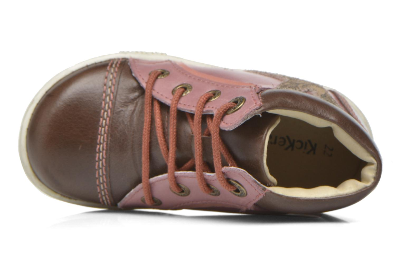 Bottines et boots Kickers Tralala Marron vue gauche
