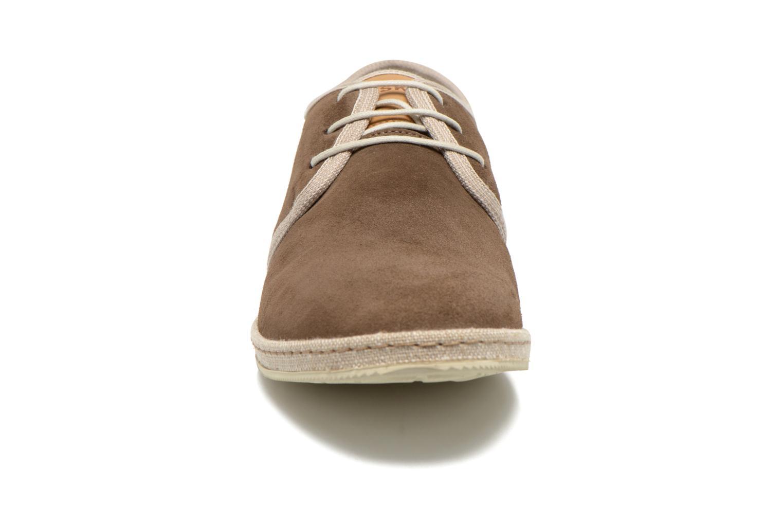 Chaussures à lacets Redskins Sagot Marron vue portées chaussures