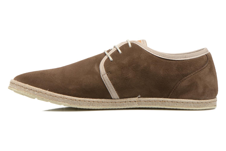 Chaussures à lacets Redskins Sagot Marron vue face