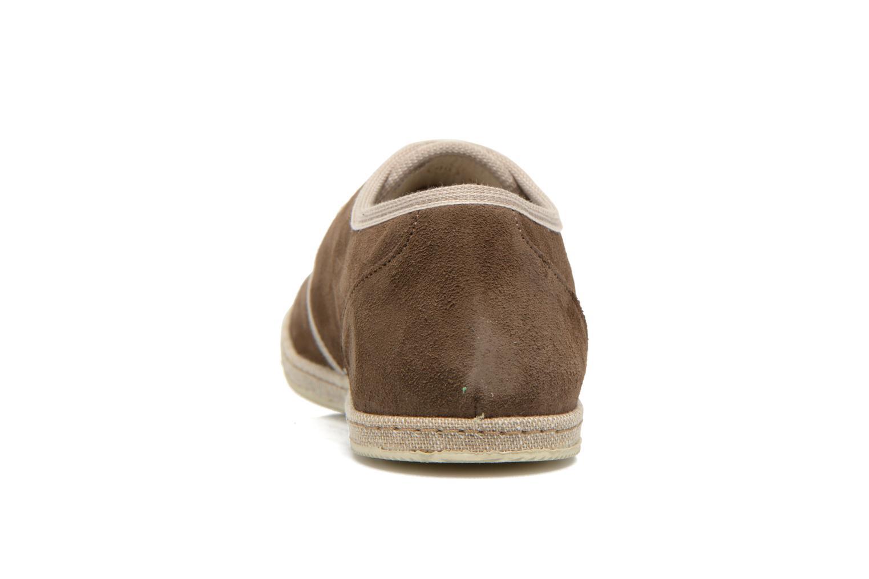 Chaussures à lacets Redskins Sagot Marron vue droite