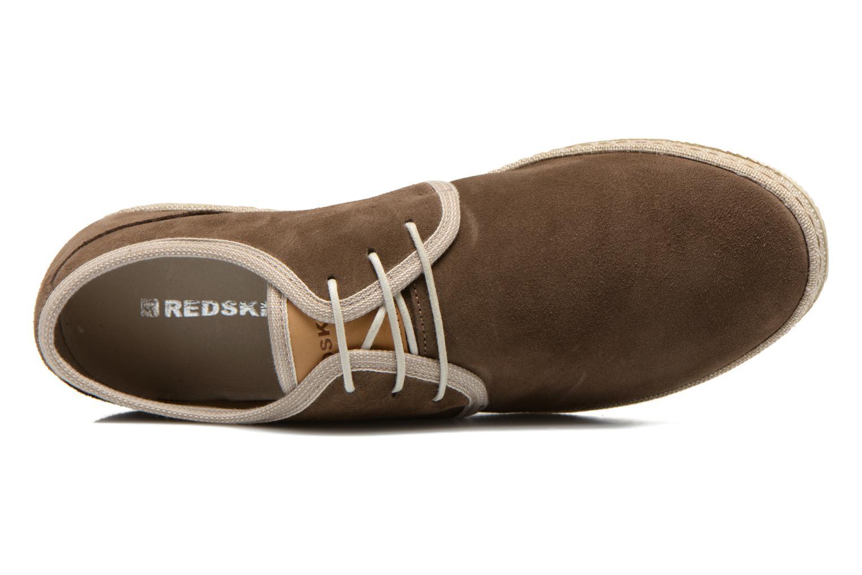Chaussures à lacets Redskins Sagot Marron vue gauche