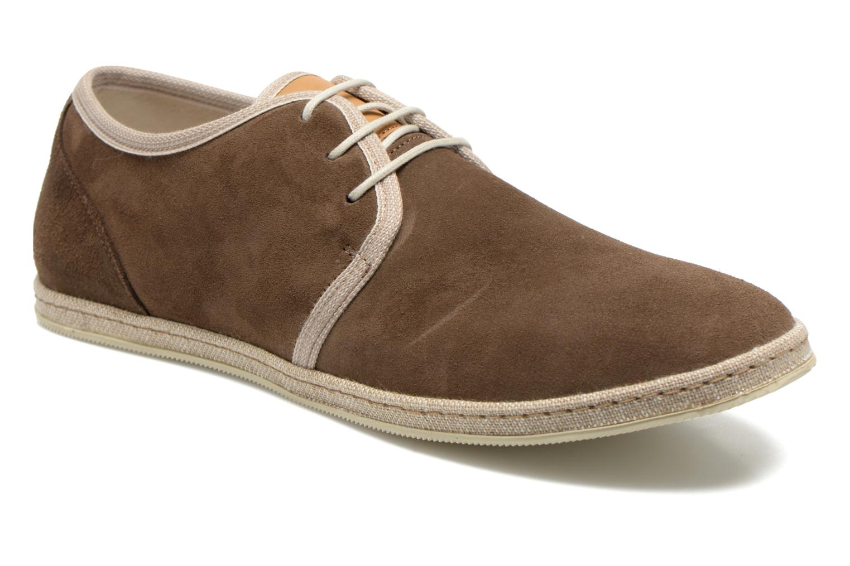 Chaussures à lacets Redskins Sagot Marron vue détail/paire