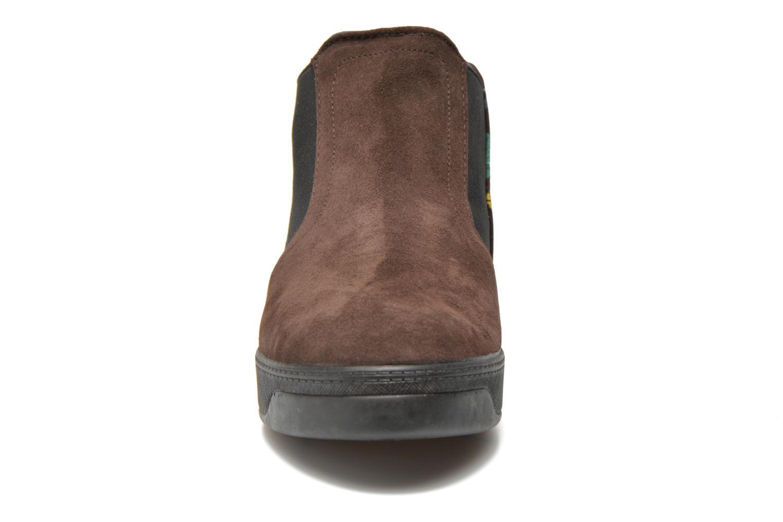 Bottines et boots Desigual James Marron vue portées chaussures