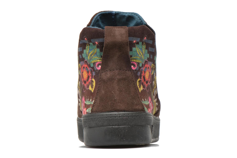 Bottines et boots Desigual James Marron vue droite