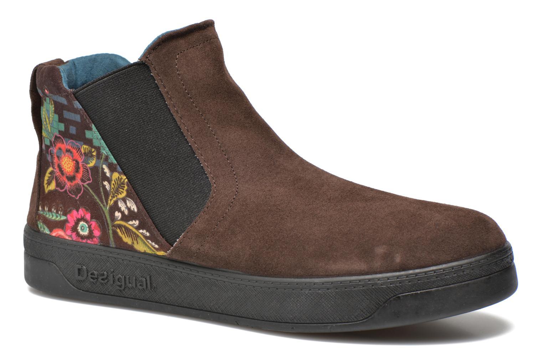 Bottines et boots Desigual James Marron vue détail/paire