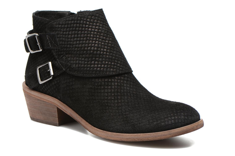Bottines et boots Schmoove Woman Aim Buckle Noir vue détail/paire