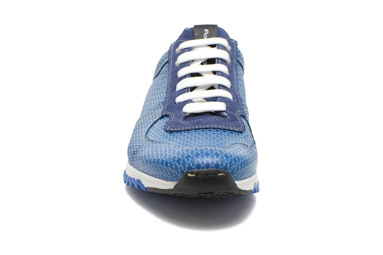 Baskets Floris Van Bommel Balthazar 16127 Bleu vue portées chaussures