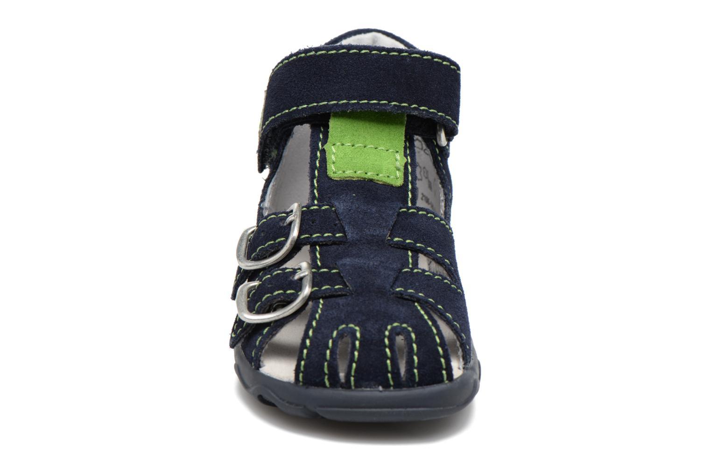 Sandales et nu-pieds Richter Alenata Bleu vue portées chaussures