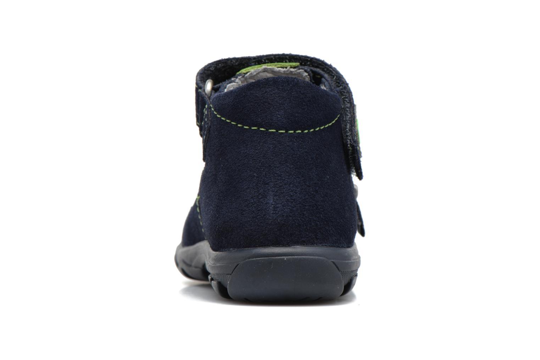 Sandales et nu-pieds Richter Alenata Bleu vue droite