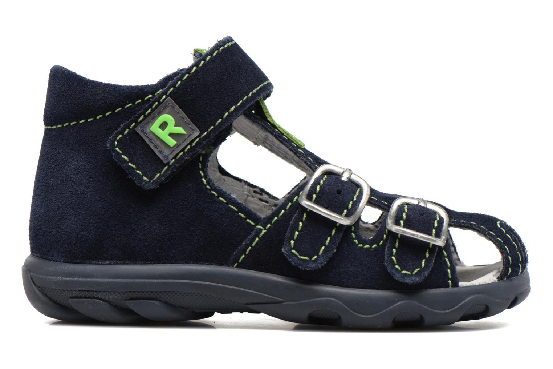 Sandales et nu-pieds Richter Alenata Bleu vue derrière