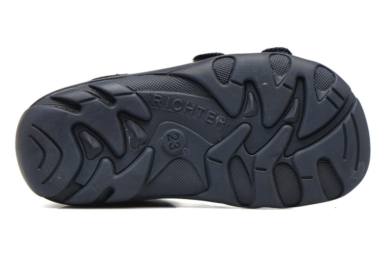 Sandales et nu-pieds Richter Alenata Bleu vue haut