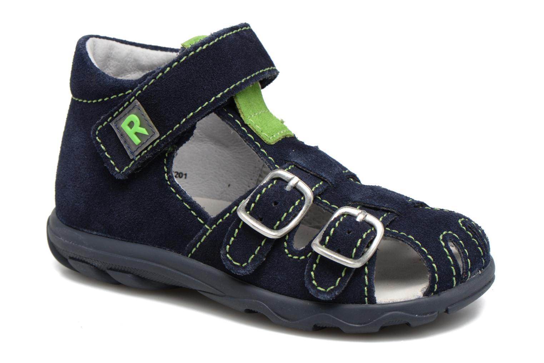 Sandales et nu-pieds Richter Alenata Bleu vue détail/paire