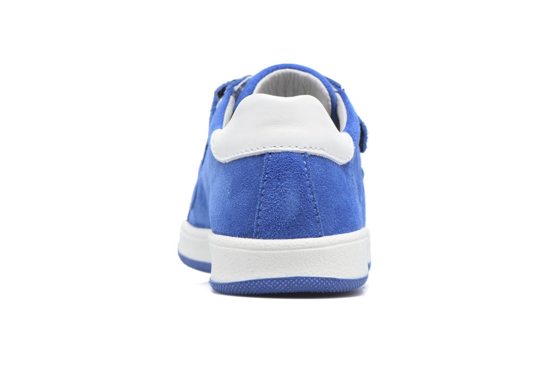 Baskets Richter Heiko Bleu vue droite