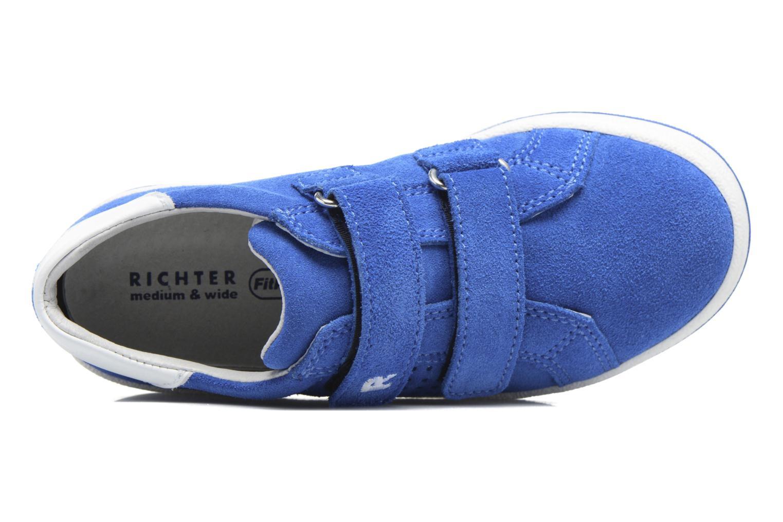 Baskets Richter Heiko Bleu vue gauche