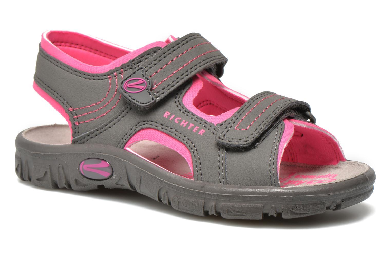 Sandaler Richter Korbl Grå detaljeret billede af skoene