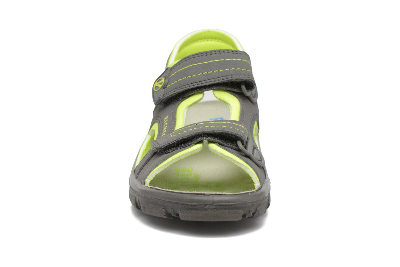 Sandales et nu-pieds Richter Korbl Gris vue portées chaussures