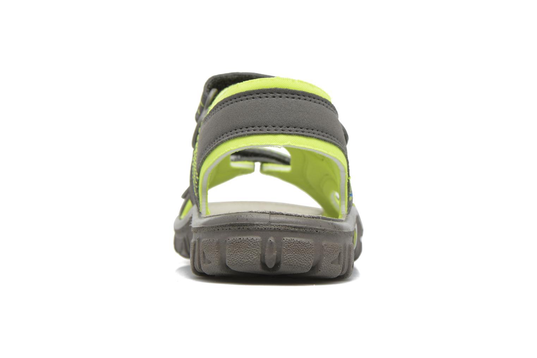 Sandales et nu-pieds Richter Korbl Gris vue droite