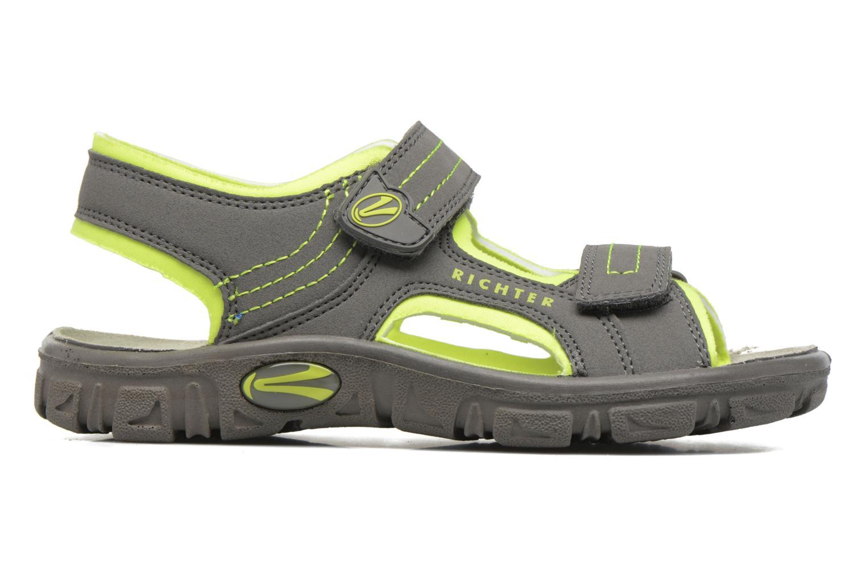 Sandales et nu-pieds Richter Korbl Gris vue derrière