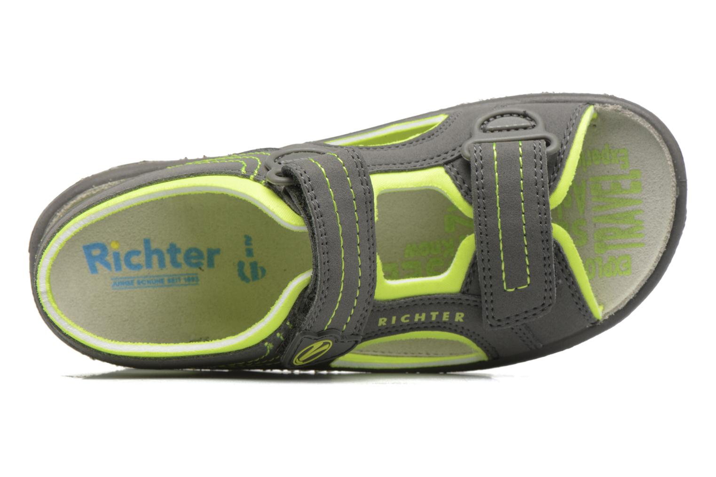 Sandales et nu-pieds Richter Korbl Gris vue gauche