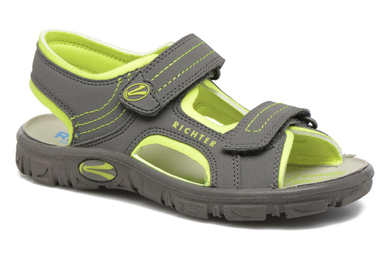 Sandales et nu-pieds Richter Korbl Gris vue détail/paire