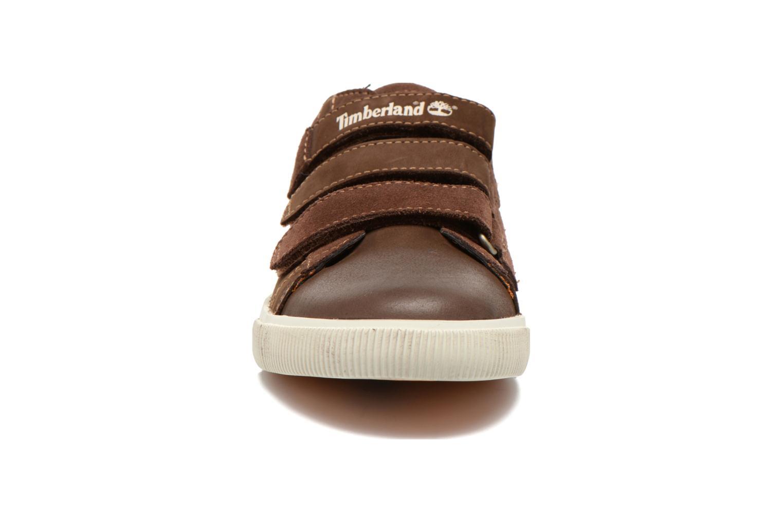 Baskets Timberland Glastenbury Hook & Loop O Marron vue portées chaussures