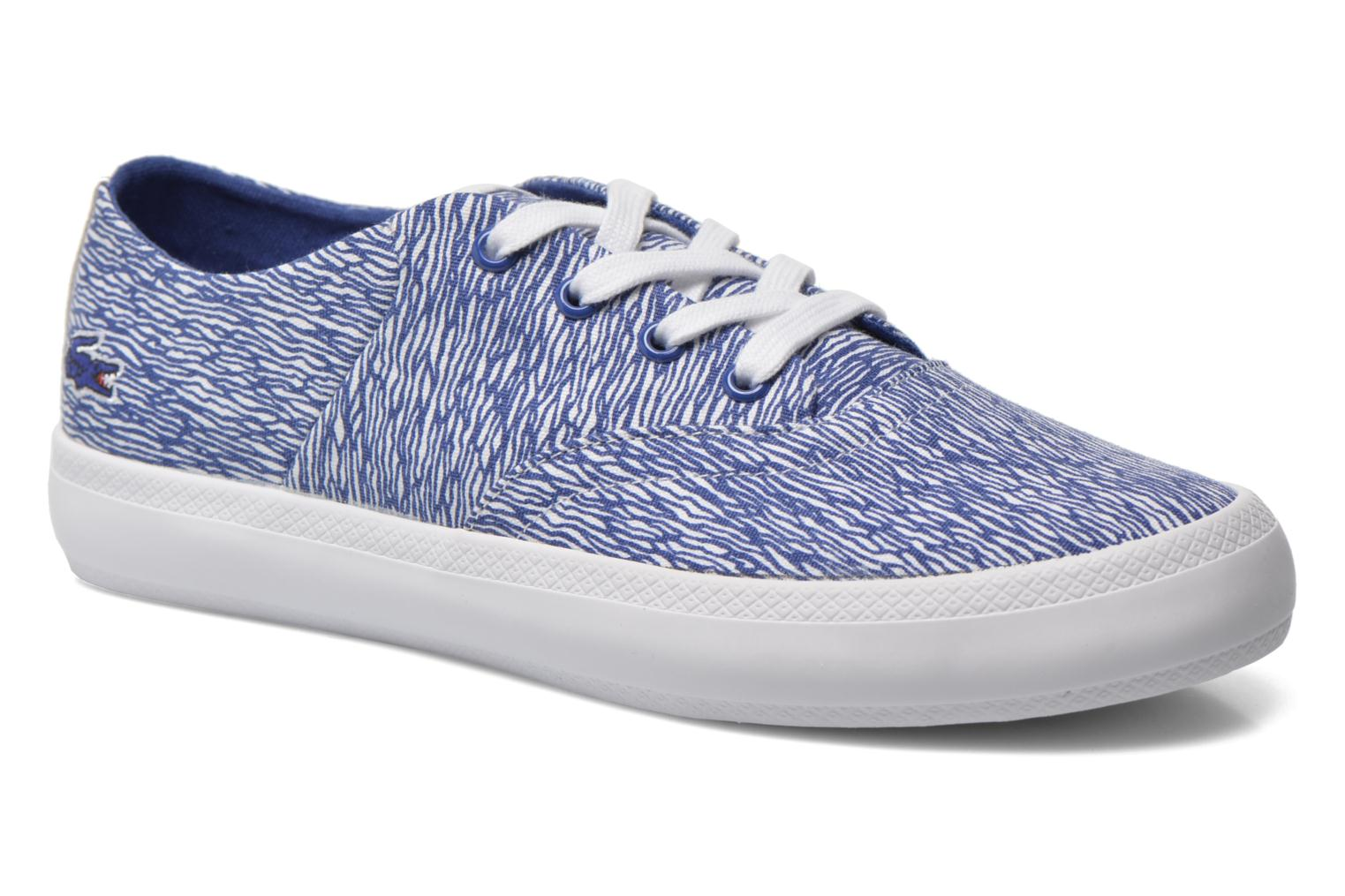 Marques Chaussure femme Lacoste femme Rene Chunky 216 G2 White/blue